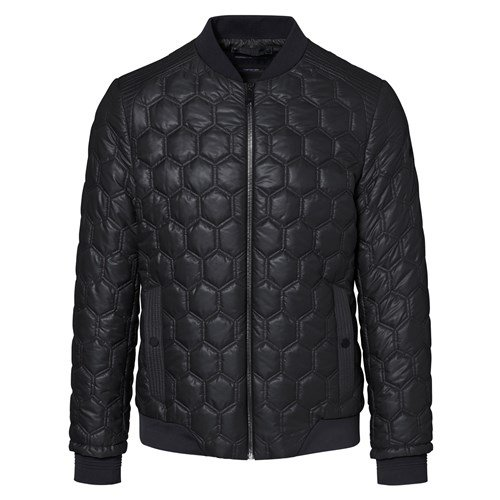 Hexagon Quilted Jacket