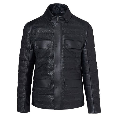 2-in-1 Hybrid Leather Jacket