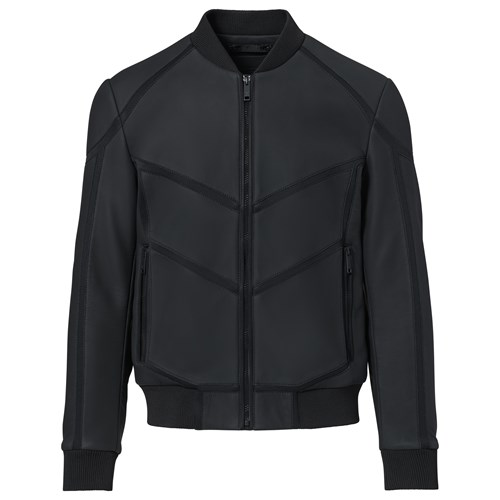 Neoprene Leather Mix Jacket