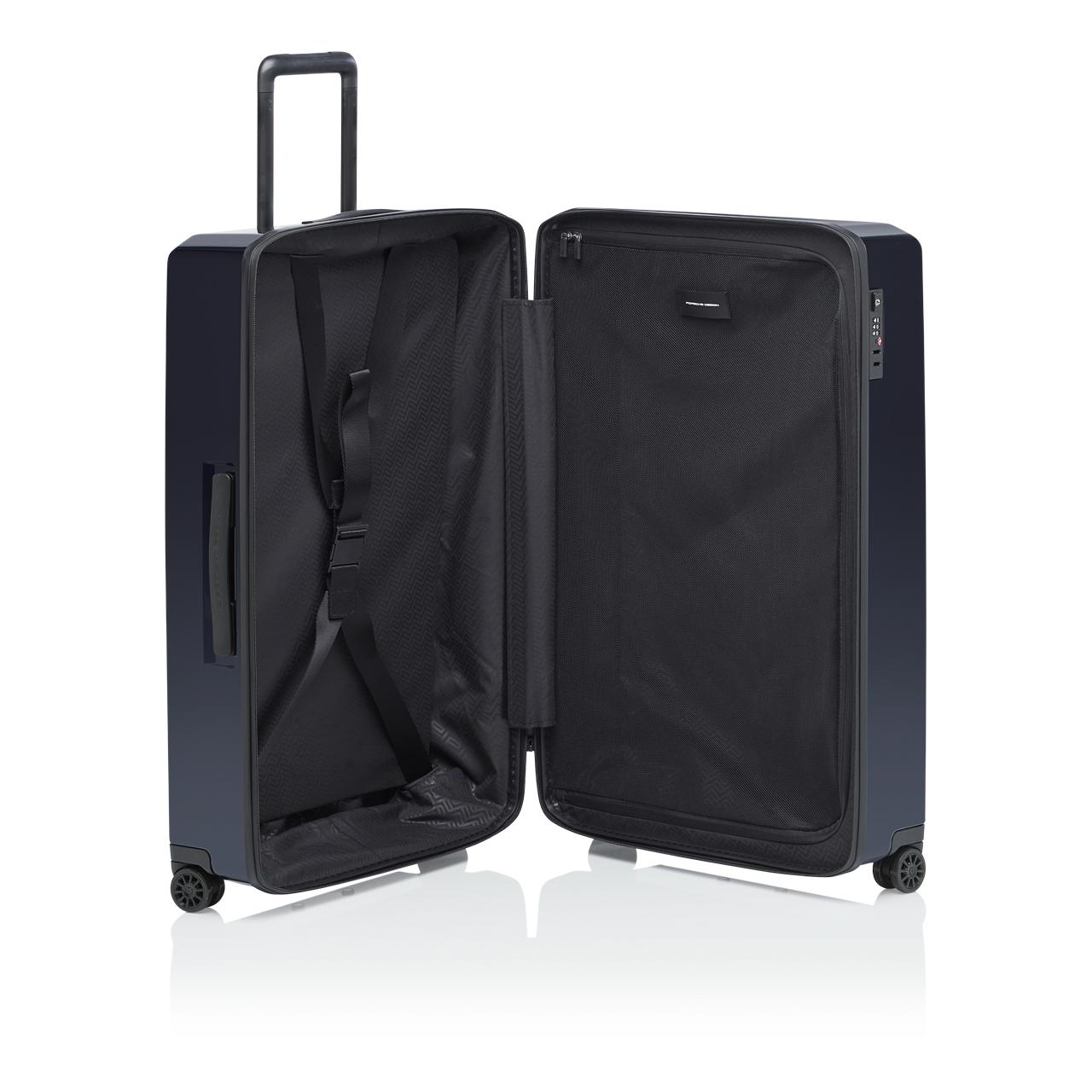 Bundle: Roadster Hardcase Trolley Light dark blue