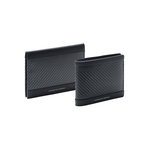 Bundle: Carbon Wallet & Passport Holder