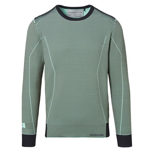 Tech Rib Crew Long Sleeve
