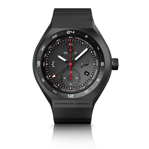 Monobloc Actuator 24-H-Chronotimer All Black Watch